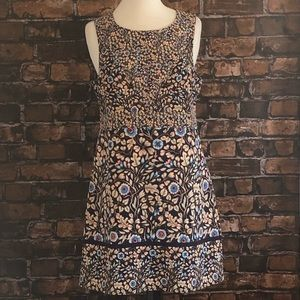 Anthropologie Maeve Dress Floral A line 10